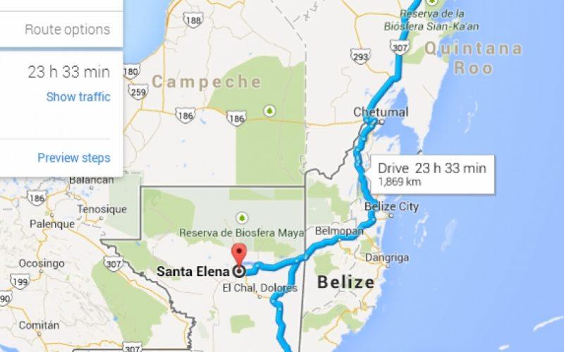 Ako sa dostať z Cancunu v Mexiku do Antigua v Guatemale