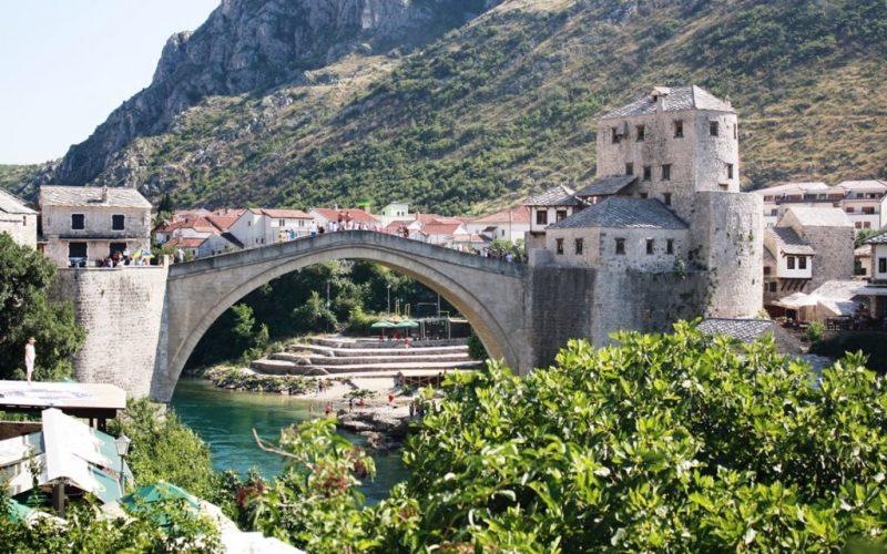 starý most v Mostar